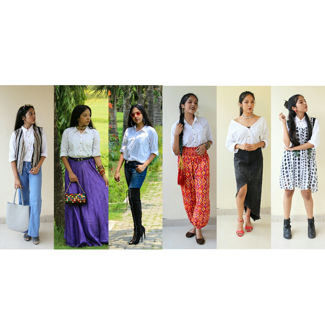 SIX DIFFERENT WAYS TO STYLE ONE SINGLE SHIRT image